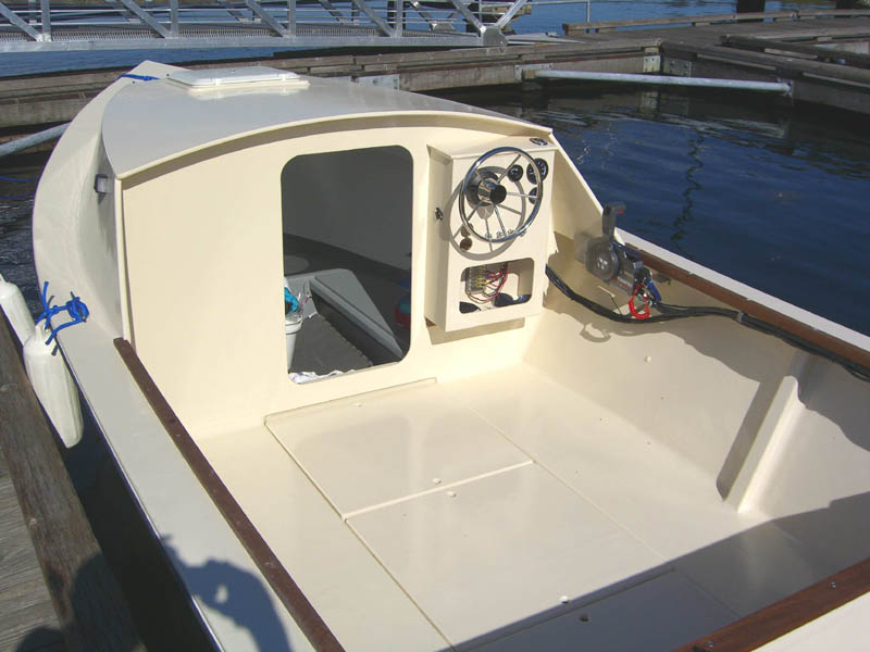 Fishyfish Dave Wright 39 S 18 Foot Tolman Standard With Cabin