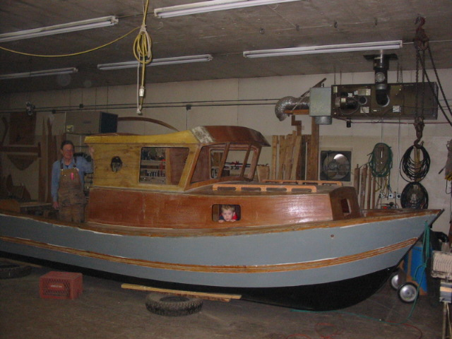 My Tolman Skiff Jumbo Project
